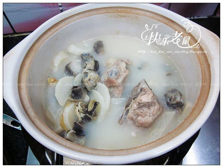 海螺煲白萝卜