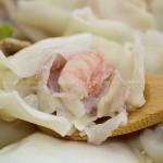 水晶虾仁大馄饨(早餐菜谱)