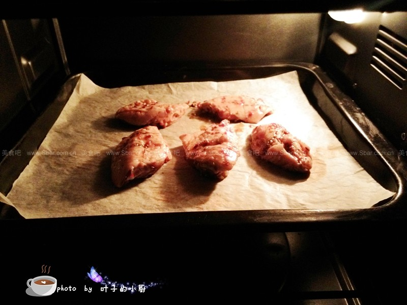 香辣烤鸡翅