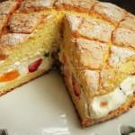 无油乡村水果蛋糕(早餐菜谱)