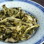 雪菜笋丝(开胃小菜)
