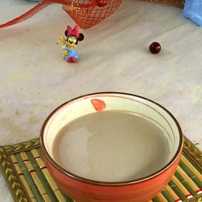 莲子二豆豆浆