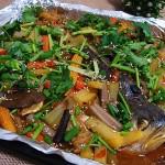 家庭版美味烤鱼(烤箱菜)