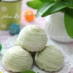 抹茶绿豆酥(甜品点心)