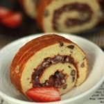 红豆蛋糕卷(蜜红豆做法)