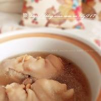 豆香豬蹄煲