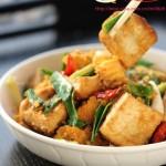 鱼籽烧豆腐(湖北农家菜)