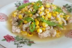 甜玉米炒肉