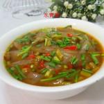 咸鲜蘑芋豆腐汤