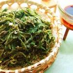 粉蒸扫帚菜(时令美味)
