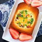 10分钟打造营养土司早餐(微波炉菜谱)