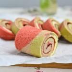 彩色蛋糕卷(甜品点心)