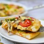 蔬菜披萨(下午茶)