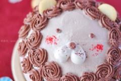3D半球狮子蛋糕