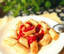 蕃茄酱猪肠粉
