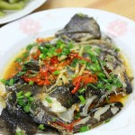 剁椒蒸鸦片鱼头(烤箱菜)
