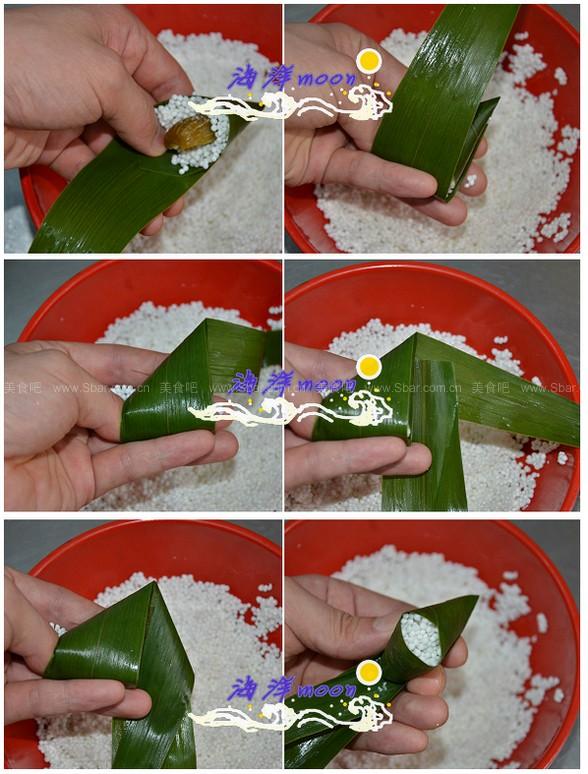 西米粽子(端午节创新粽子)的做法步骤