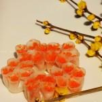 水晶梅花饺(花式面点)