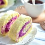 紫薯蛋卷(甜品点心)