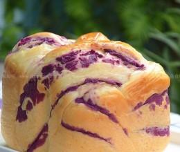 液种紫薯吐司