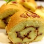 蔷薇蛋糕卷(甜品点心)
