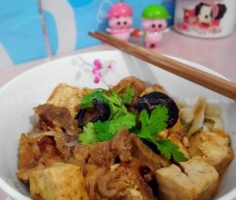 豆腐排骨面