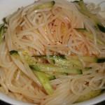 凉拌米线(早餐菜谱)