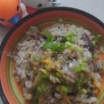 干萝卜鲜蛤焖饭(跟随《舌尖上的中国2》的脚步)