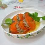 煎红萝卜酿肉