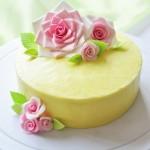 翻糖玫瑰蛋糕(甜品點心)