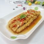剁椒蒜米豆腐