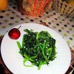 蒜泥茼蒿(五分钟做出美味晚餐)