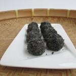 黑芝麻糯米糍(中式点心)