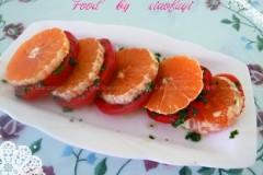 蕃茄甜橙夹