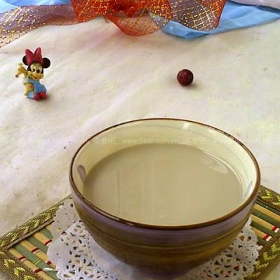 绿豆莲子豆浆
