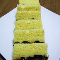 電壓力鍋版黑加侖海綿蛋糕