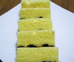 电压力锅版黑加仑海绵蛋糕