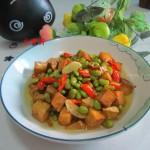 黄豆豆腐丁