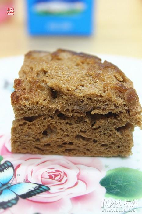 微波炉巧克力小面包