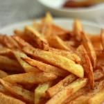 椒盐薯条(自制美味零食)