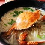 白蟹挂面(舌尖上的美味)