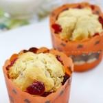 蔓越莓玛芬(早餐菜谱)