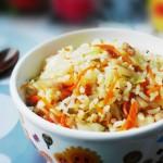 胡萝卜焖饭(早餐菜谱)