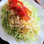 虾皮炝拌头菜