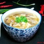 口蘑蛋花汤