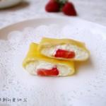 草莓班戟(甜品点心)
