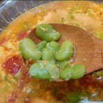 番茄蚕豆鸡蛋汤(立夏食谱)