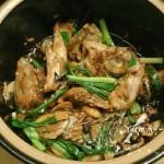 砂锅三文鱼头煲(孕妇美食)
