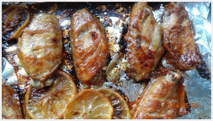 柠香烤鸡翅