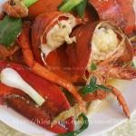 姜葱蒜炒波士顿龙虾
